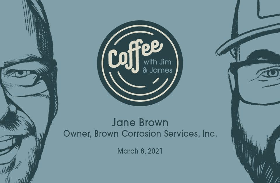 coffee with jim and james jane brown
